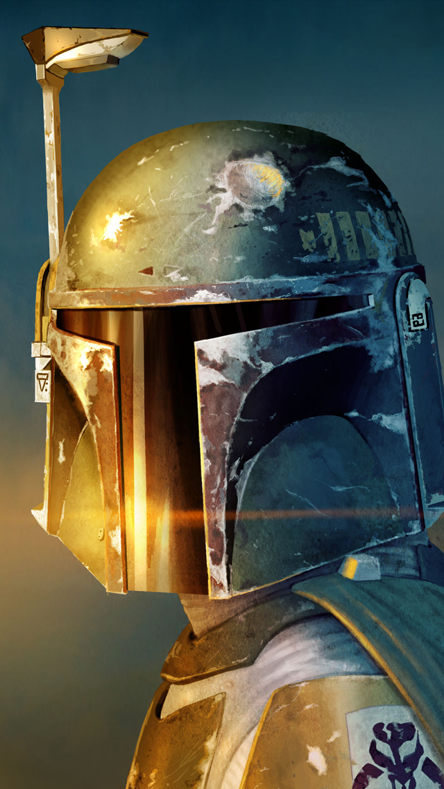 Boba Fett Wallpaper 640x1136