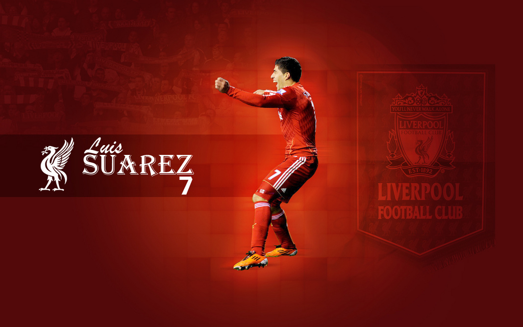 Suarez Celebration Wallpaper 1067x667