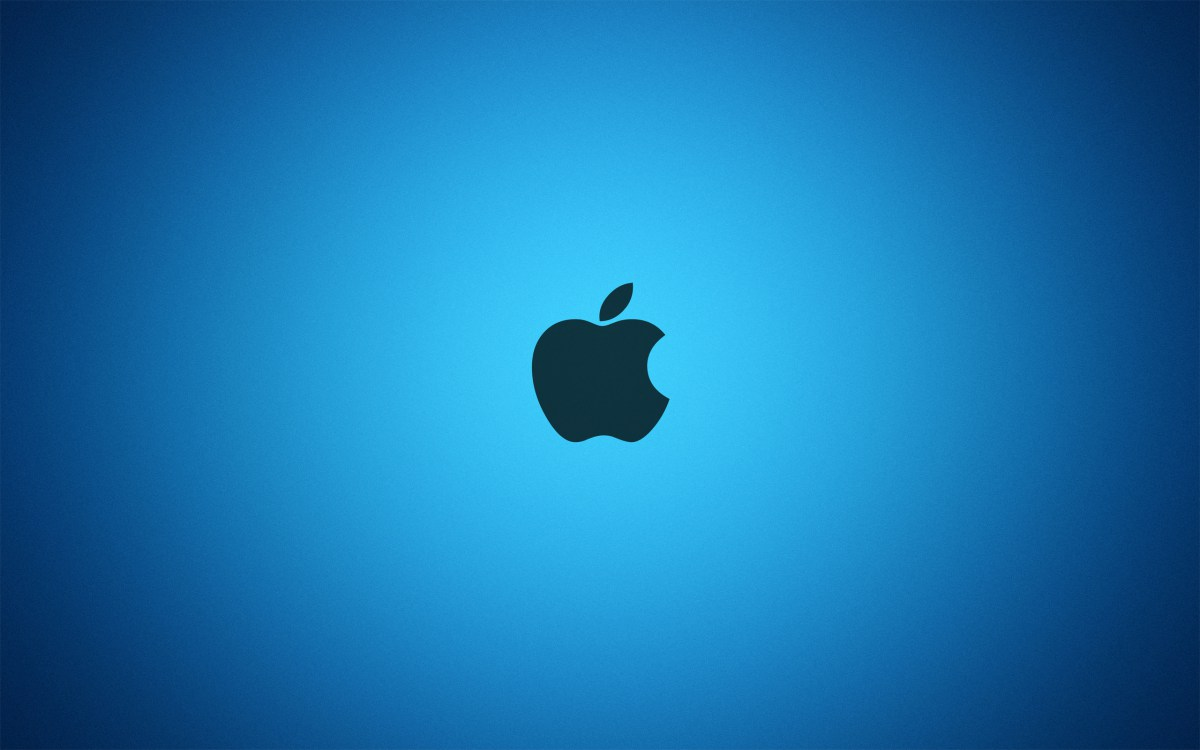 Blue Style Mac Logo 2011 HD Wallpaper 4K Wallpapers 1200x750