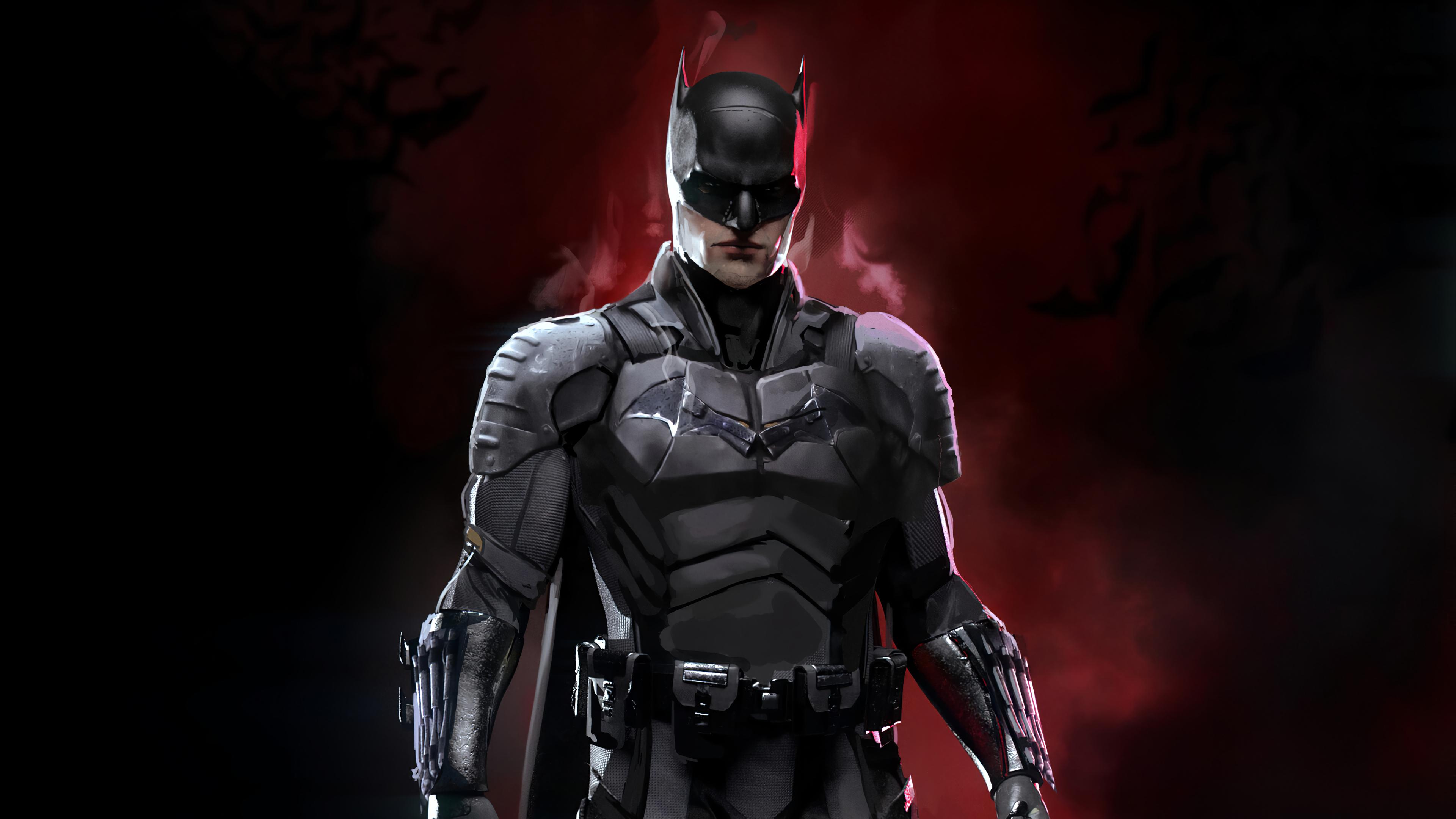 The Batman 2021 Robert Pattinson 4K Wallpaper 32587 3840x2160