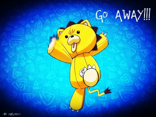 GO AWAY by sanjukyu 512x384