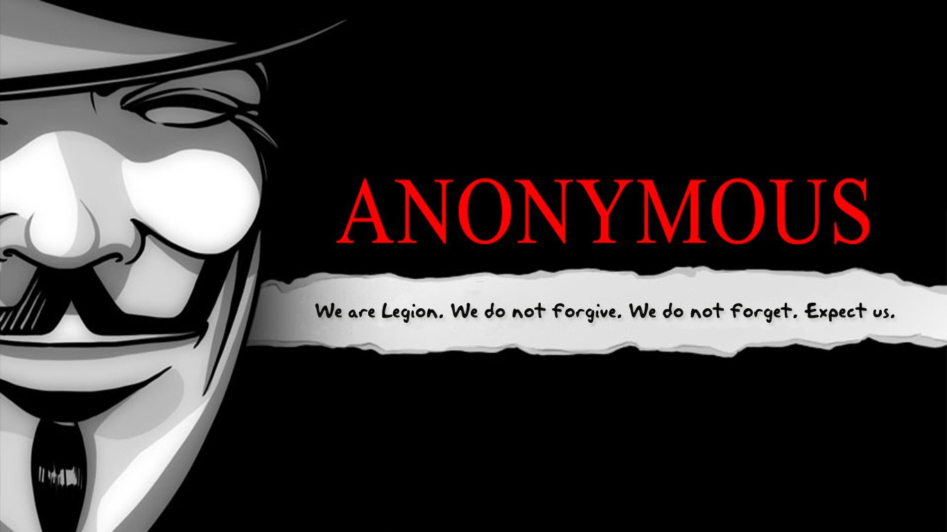 Anonymous Hacker Wallp...V For Vendetta Mask Wallpaper