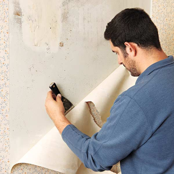 Removing Wallpaper From Plaster Walls Your Toughest Paint Questions 600x600