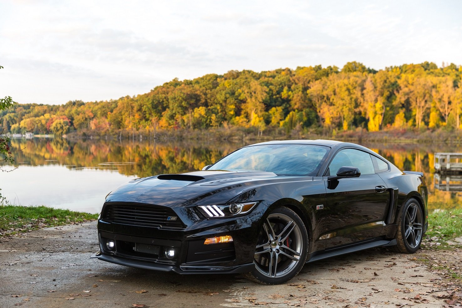 2015 Roush Stage 2 mustang modified black wallpaper 1475x984 1475x984