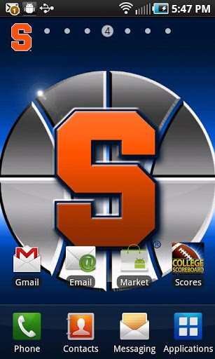 Syracuse Revolving Wallpaper App for Android 307x512