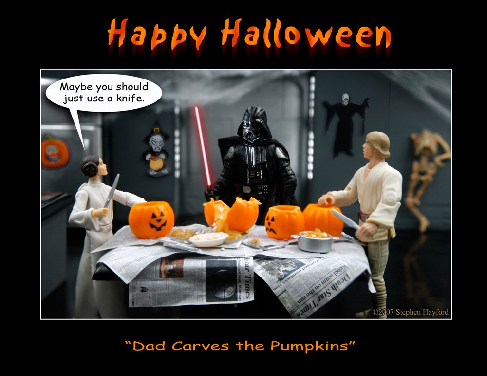 Star Wars images Skywalker family Halloween HD wallpaper and 1000x771
