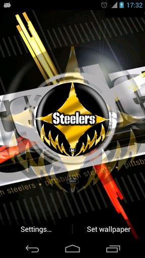View bigger   Pittsburgh Steelers Wallpaper for Android screenshot 288x512