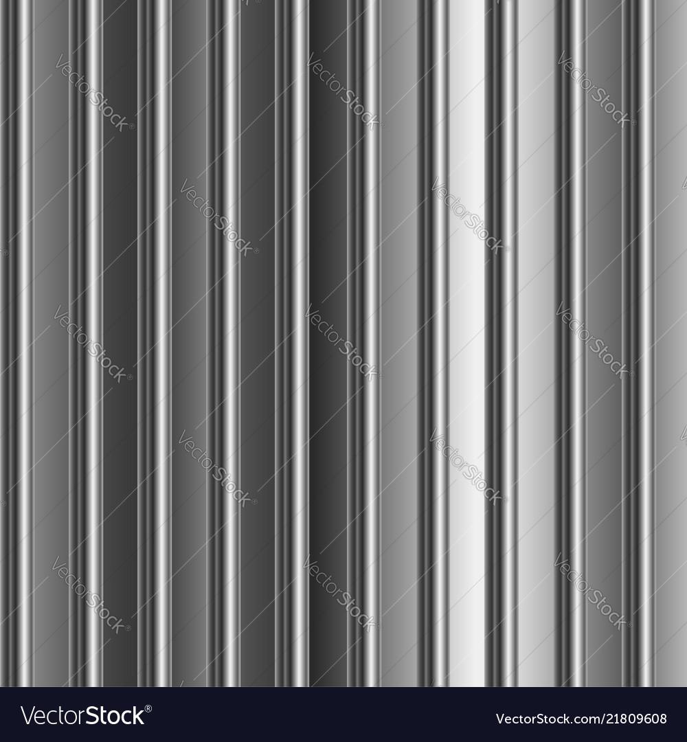 Aluminum silver stripe texture background Vector Image 1000x1080