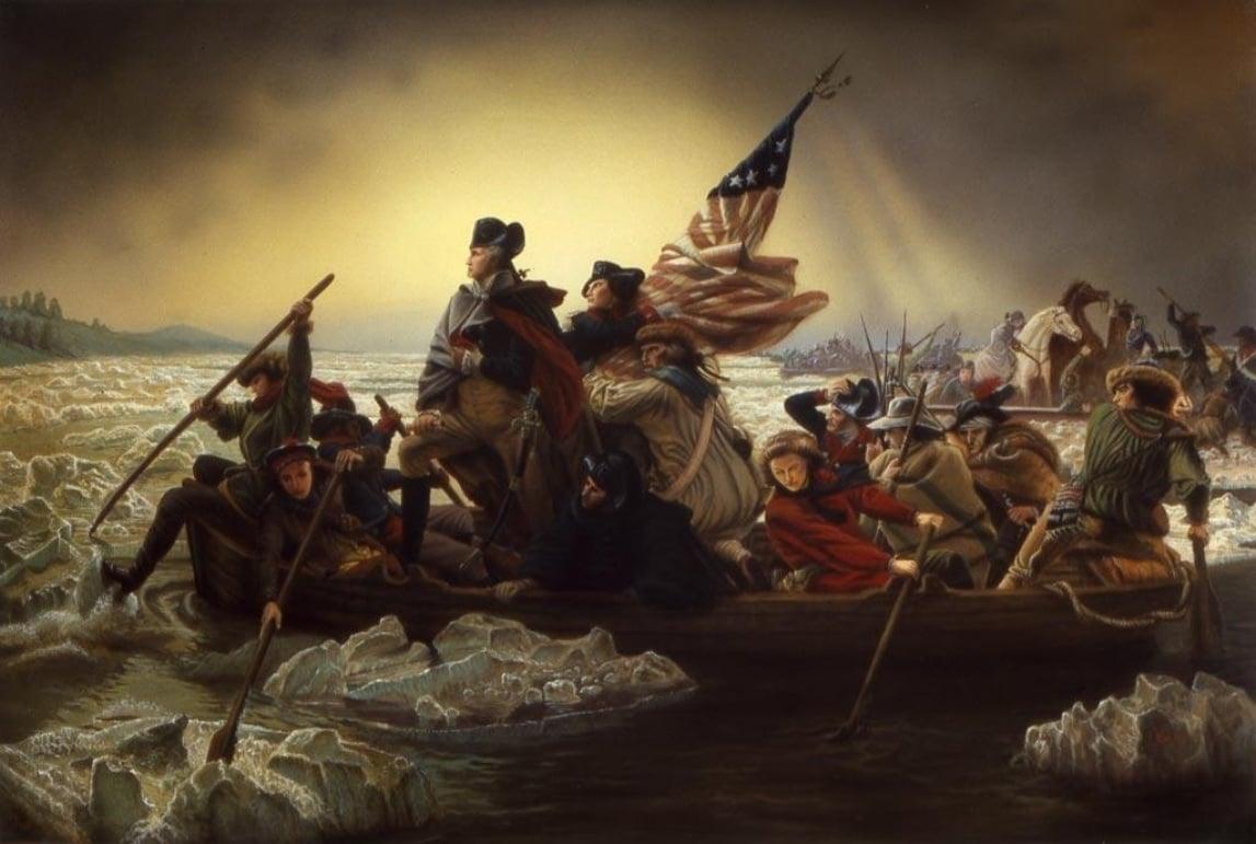 46 Washington Crossing The Delaware Wallpaper On Wallpapersafari