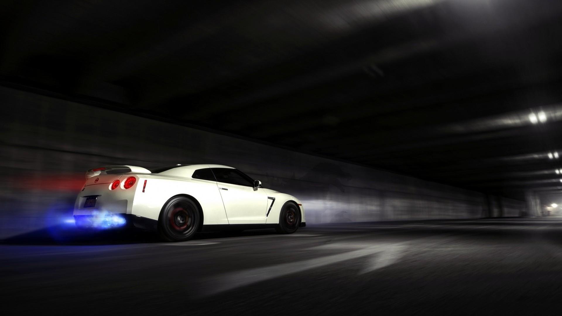 Nissan Skyline GTR Backfire Flame wallpaper 1920x1080 50718 1920x1080