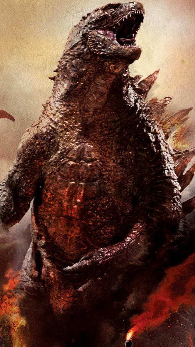 Godzilla iPhone 5s Wallpaper Download iPhone Wallpapers iPad 640x1136