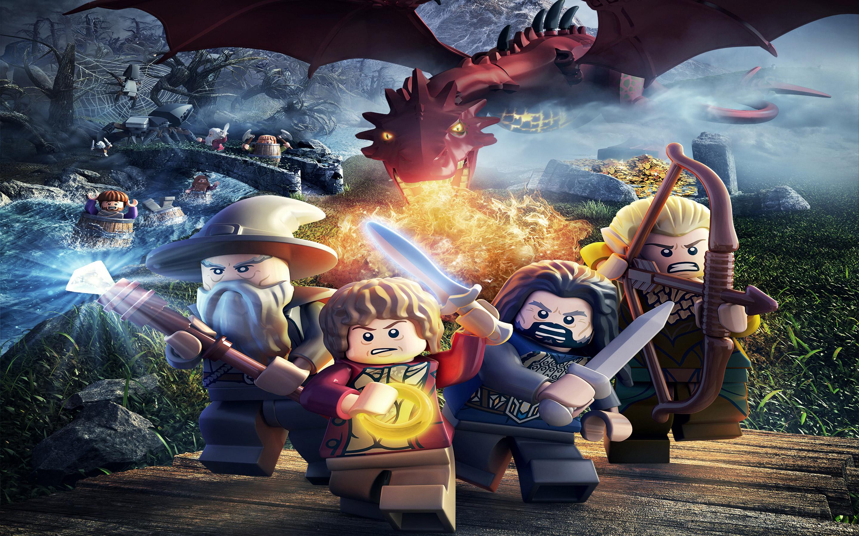 Lego The Hobbit 2880x1800