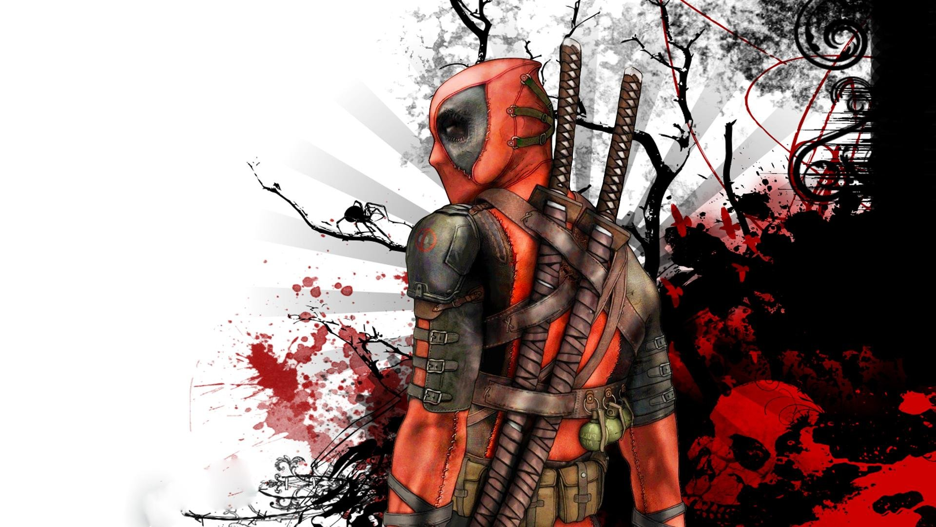 Deadpool wallpaper 1920x1080 281012 WallpaperUP 1920x1080