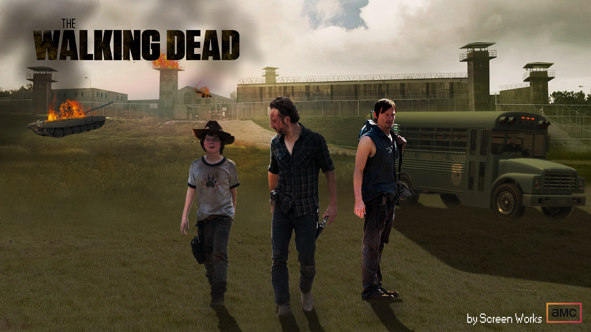 Free Download Walking Dead Wallpaper Season 3 The Walking