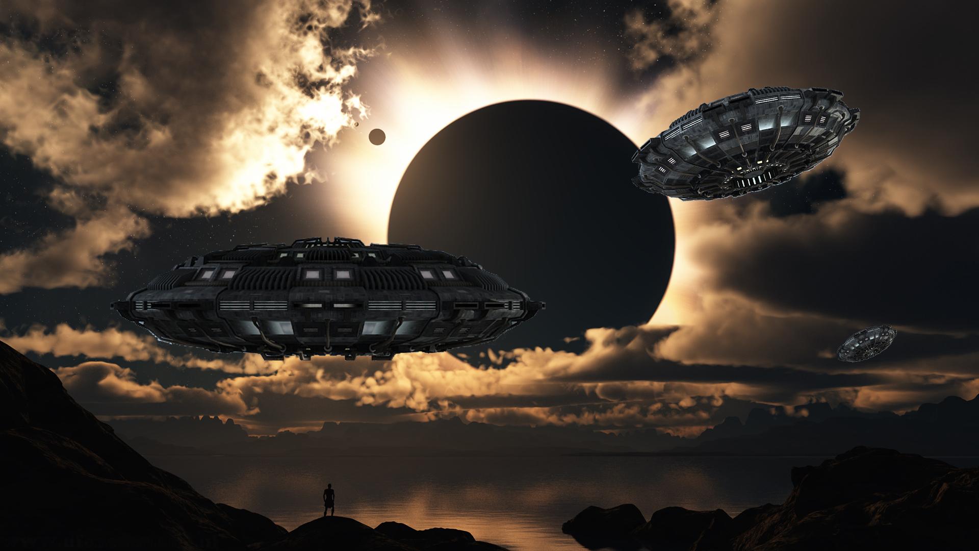UFOnederland Full HD UFO Wallpaper Space earth ufo hd   UFONEDERLAND 1920x1080