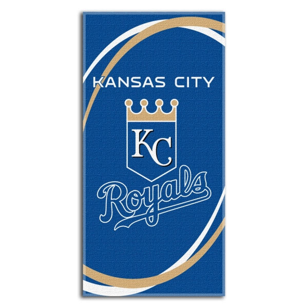 Kansas City Royals MLB 30 x 60 Terry Beach Towel 600x600