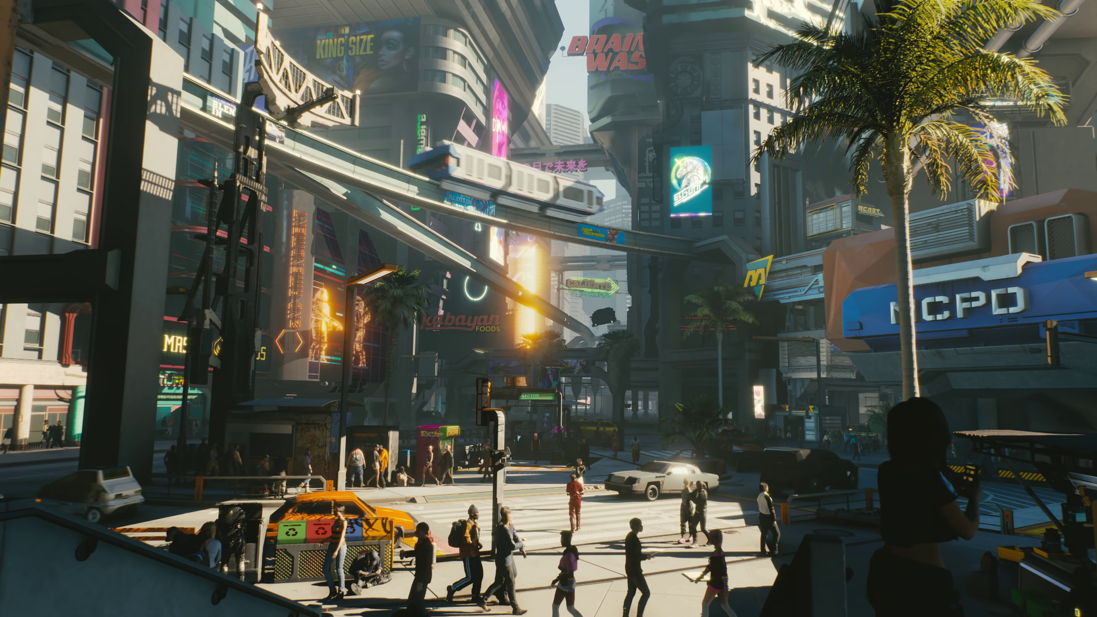Cyberpunk 2077 scenes Wallpaper Download   High Resolution 4K 3840x2160