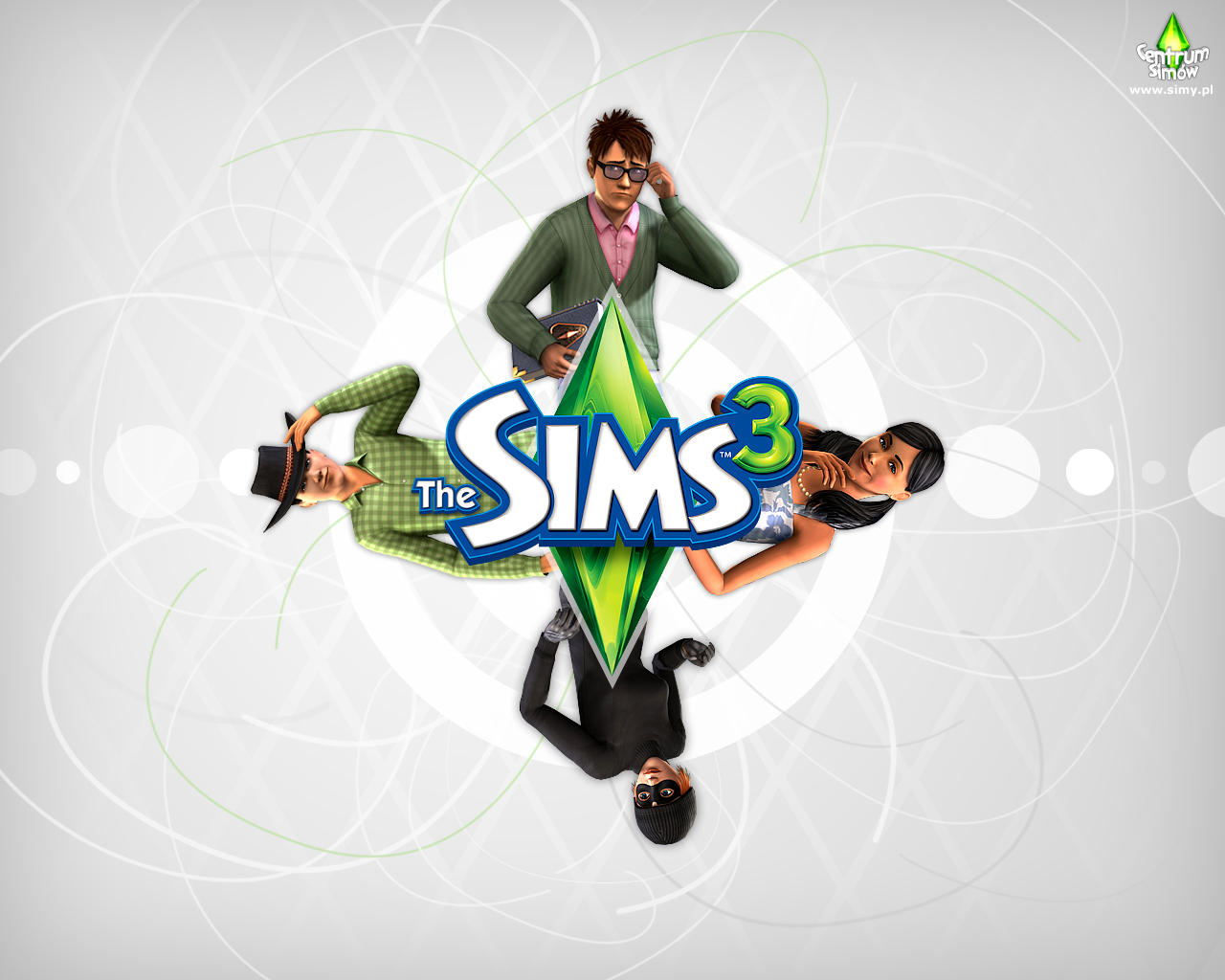 Deanne Morrison the sims 3 background 1280x1024