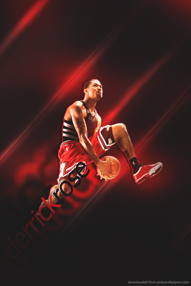 derrick rose wallpaper iphone - photo #13