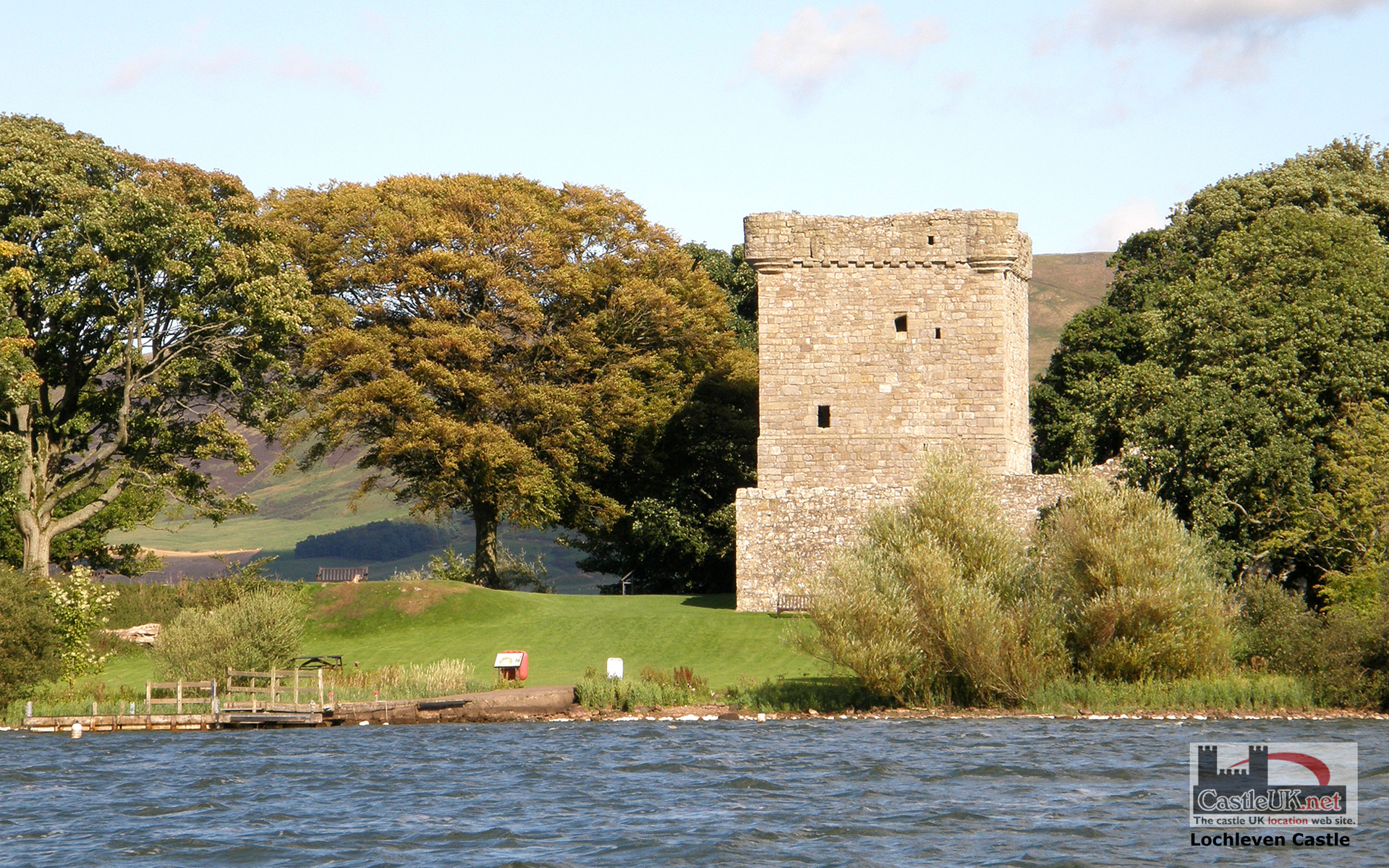 with a high quality lochleven castle wallpaper background picture 1920x1200