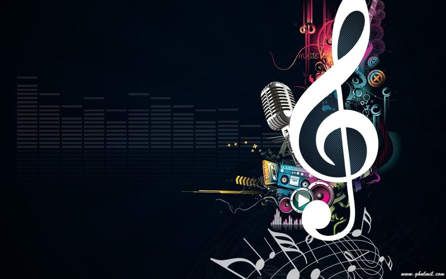 Free download Beautiful Sign Of Music Desktop Wallpaper E ...