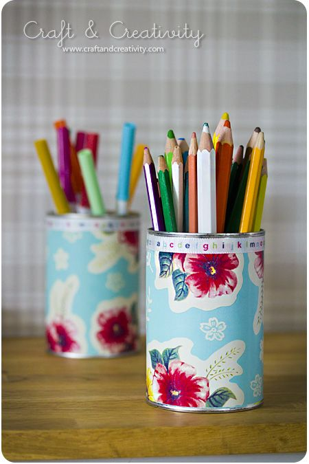 use Wash out an empty tin Use nice gift wrap or wallpaper samples 450x675