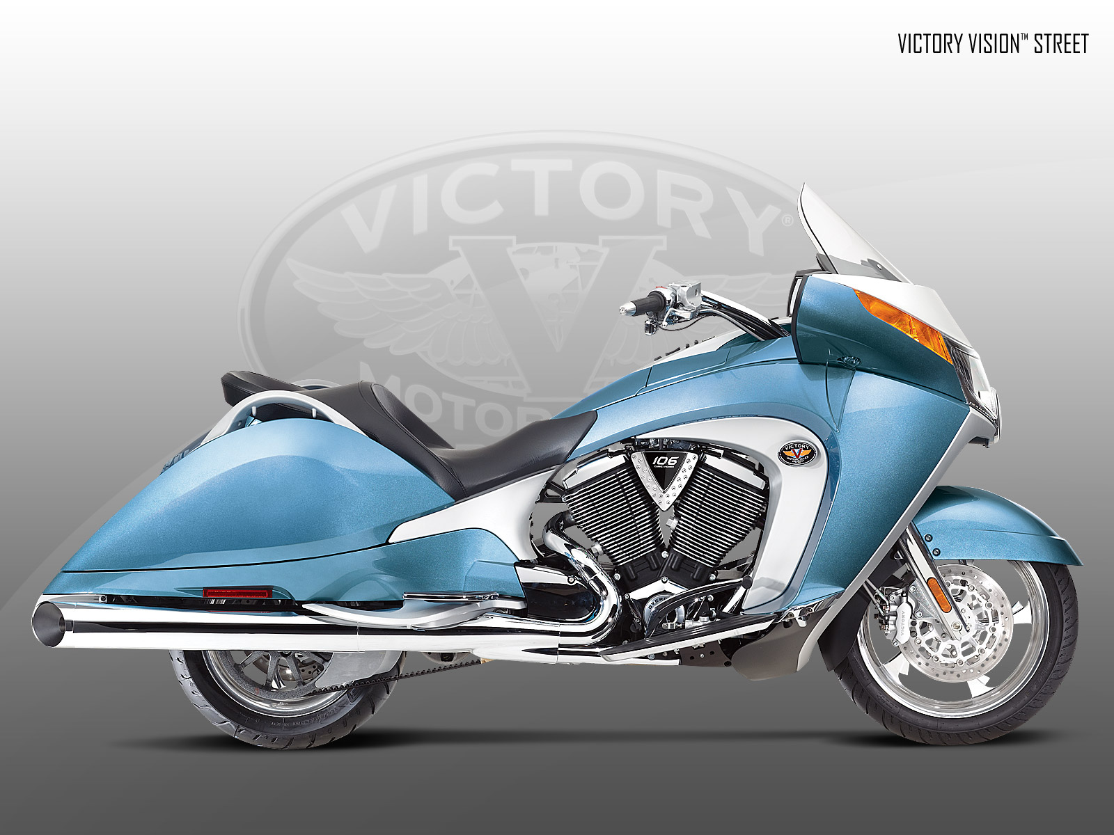 Victory Motorcycles 2009 Models Victory Vision Vision Street 1600x1200