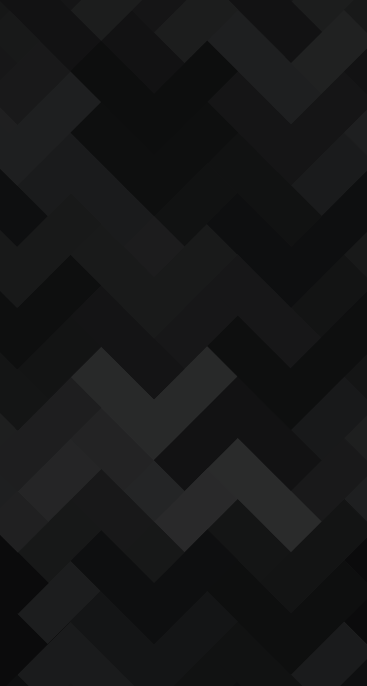 Geometrix Parallax Black Wallpaper   iPhone Wallpapers 744x1392