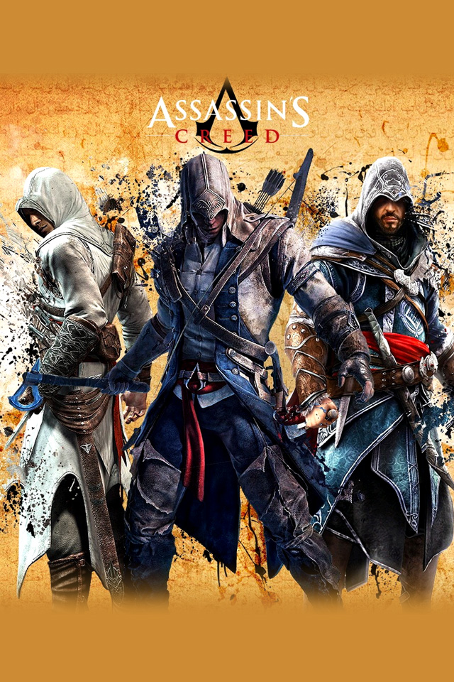 Free Download Assassins Creed 3 Iphone Wallpapers Hd 640x960 For