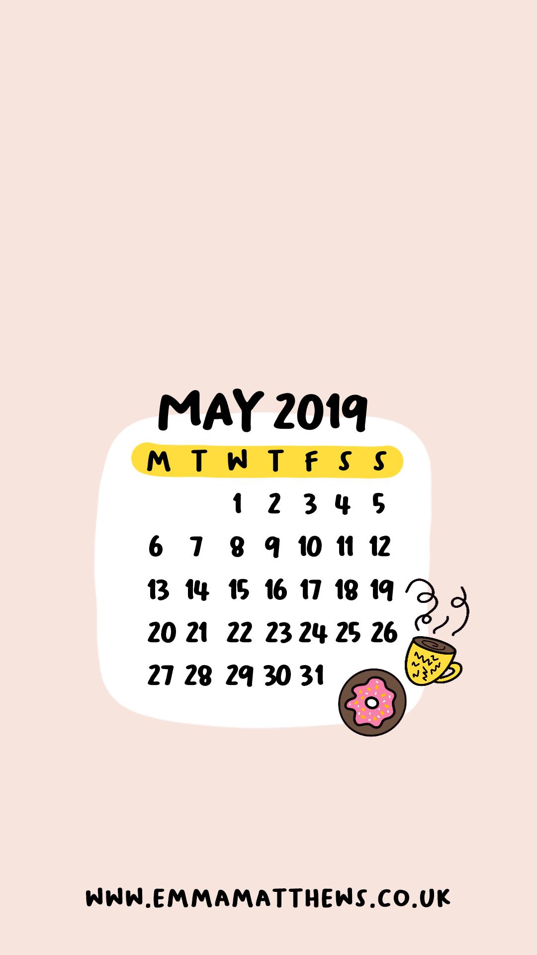 2019 Calendar Wallpapers ...