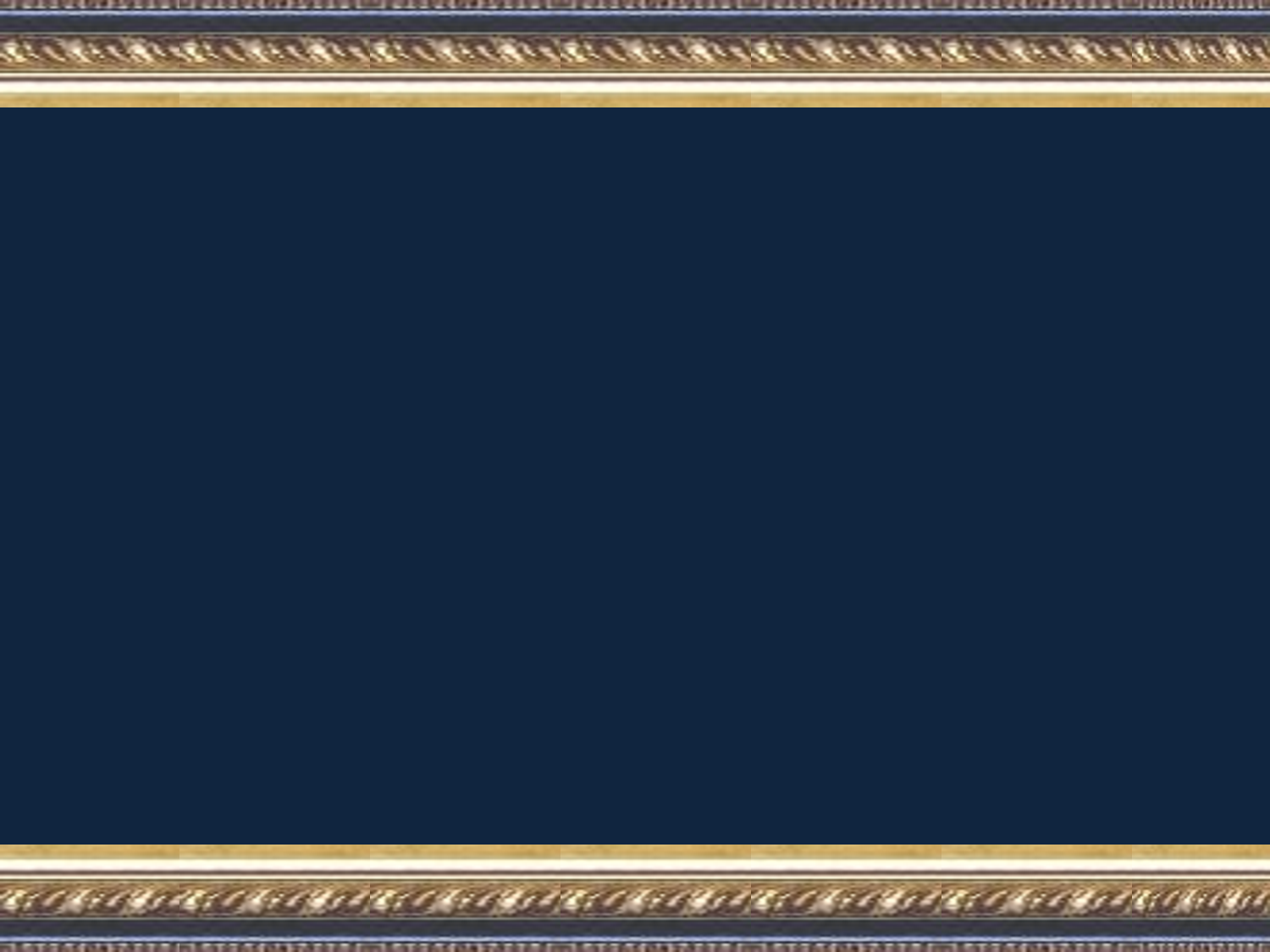 Powerpoint Template   Navy And Gold small Framed Accents by 1500x1125