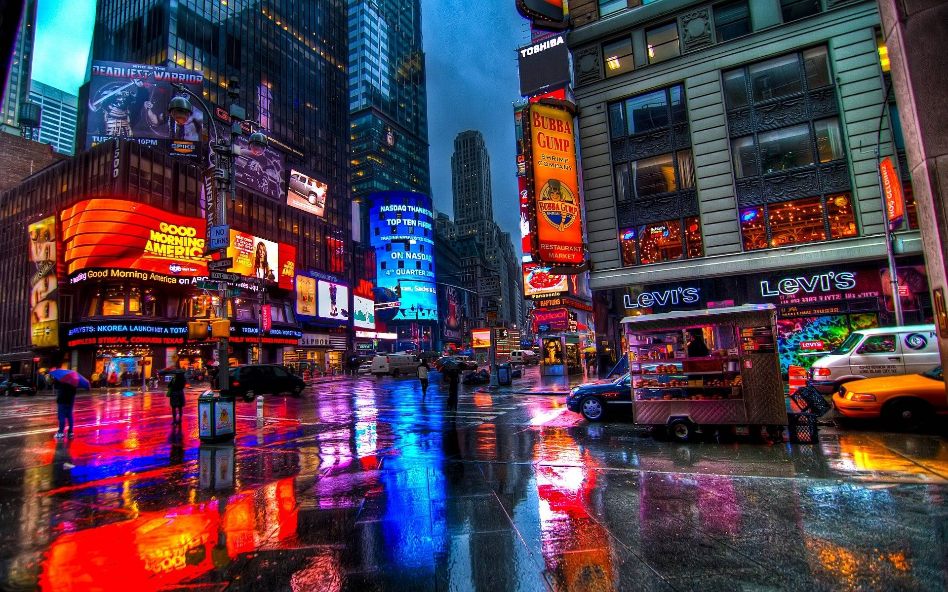 NYC Times Square HD Wallpapers   Top NYC Times Square HD 1920x1200