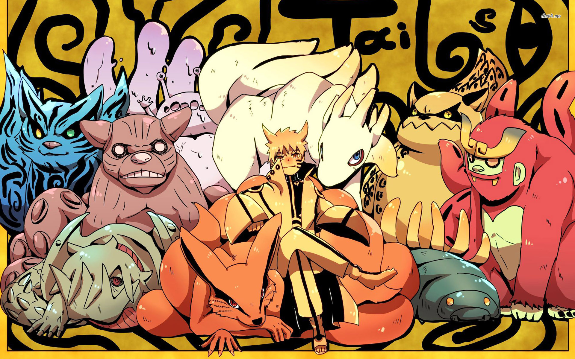 Tailed Beasts   Naruto wallpaper   Anime wallpapers   23429 1920x1200