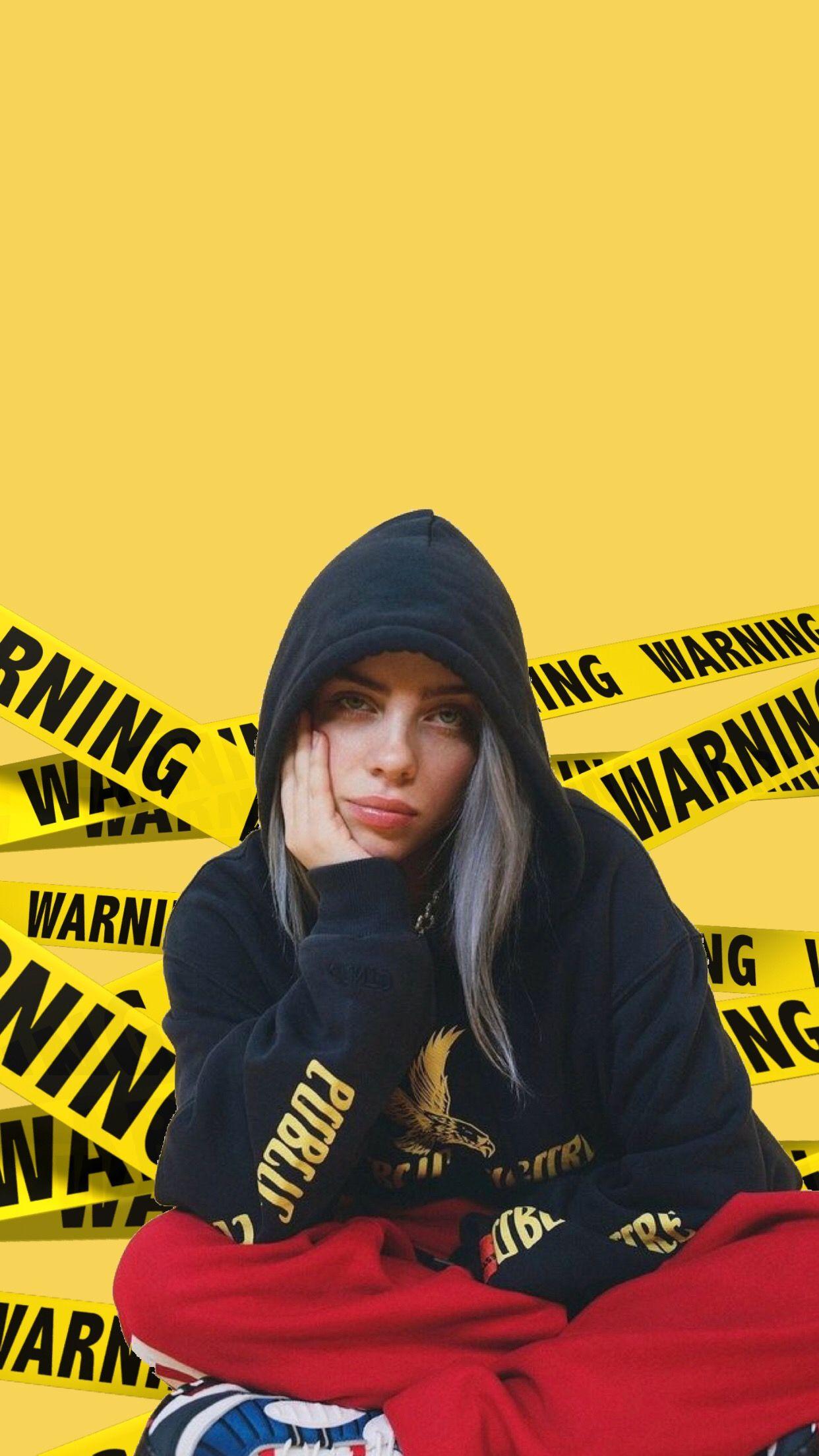 Billie Eilish Wallpaper Lock screen Dope things in 2019 1242x2208