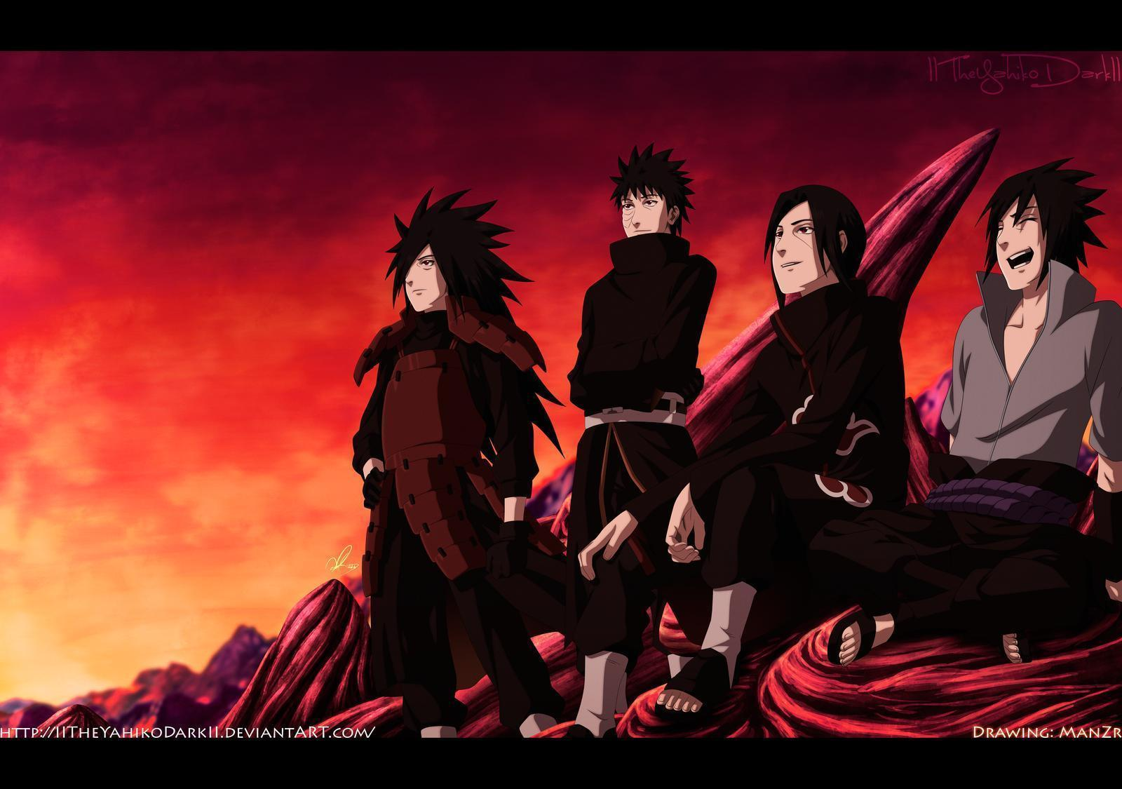 Uchiha Clan Wallpapers 1600x1125