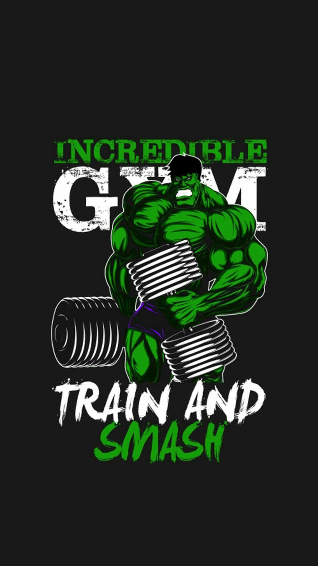 Hulk Wallpaper 54 Hulk Hulk Hulk tattoo Gym 1080x1920