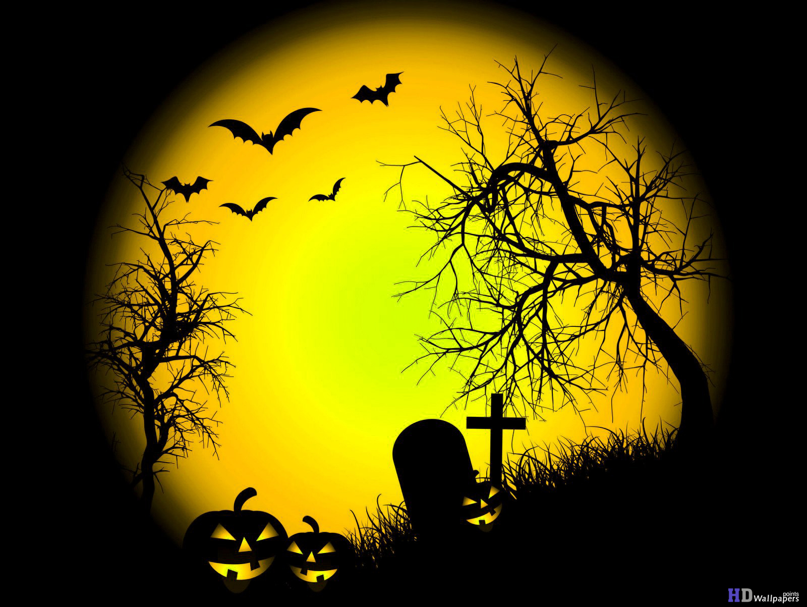 Halloween Desktop Background HD Wallpaper 1600x1203