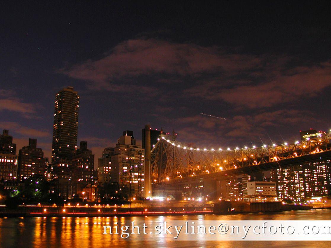 New York Night Wallpaper
