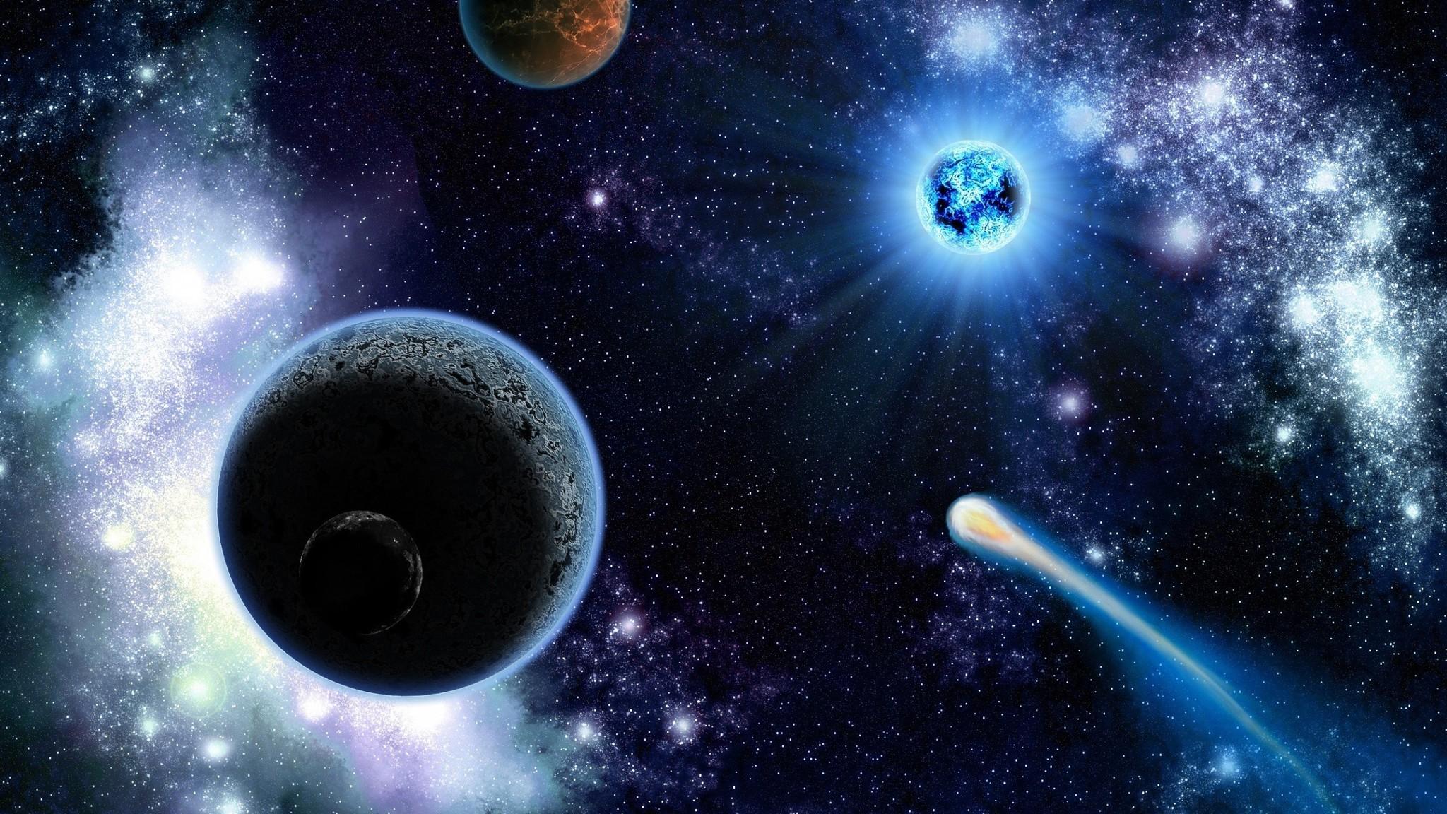 Pin Planeten Wallpapers Und Hintergrunde 2048x1152