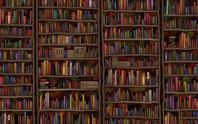 Old Library Wallpaper - WallpaperSafari