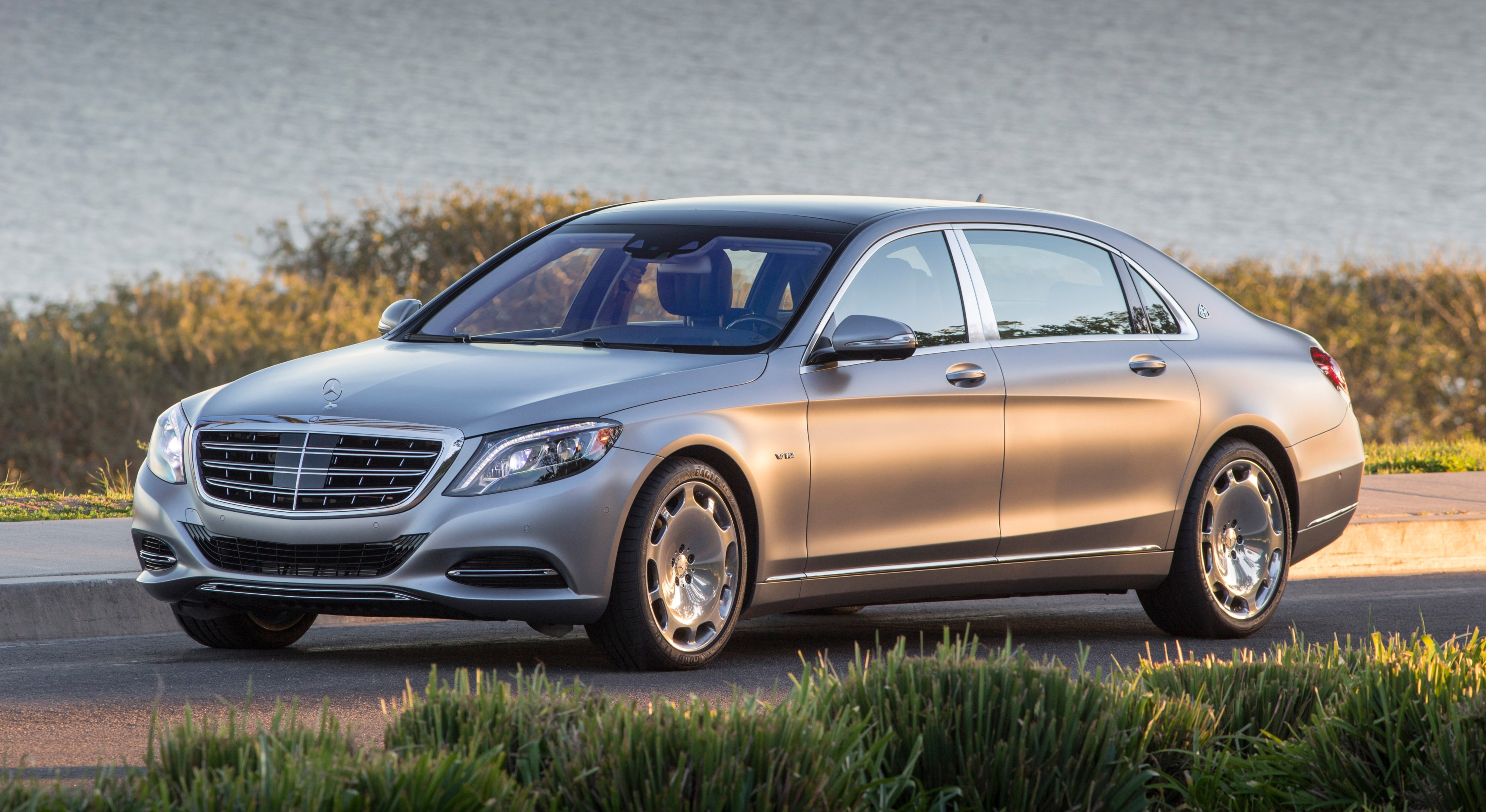 Mercedes Maybach S600 HD wallpapers download 5120x2798