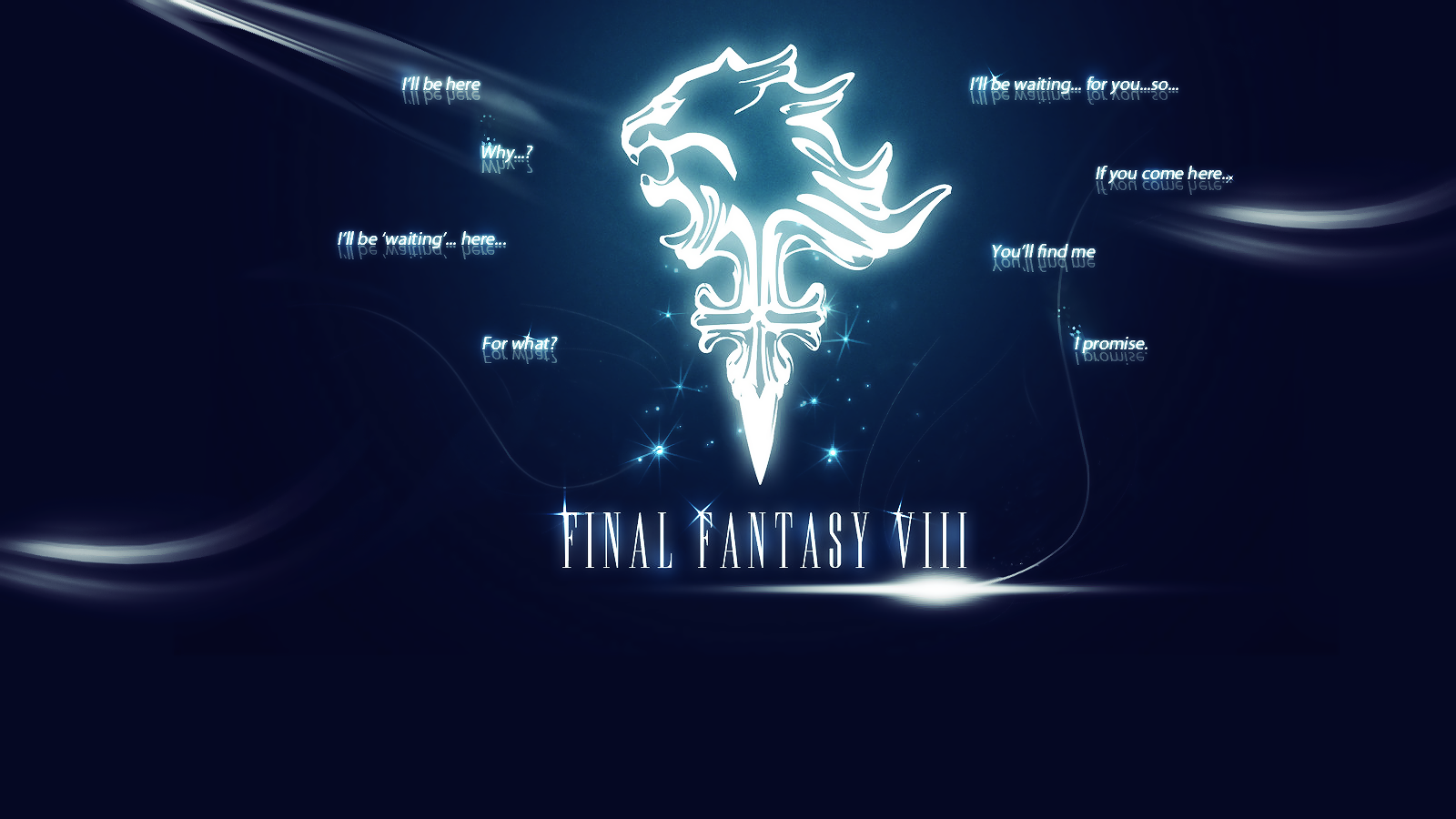 wallpaper final fantasy viii by arcaste fan art wallpaper games 2013 1600x900