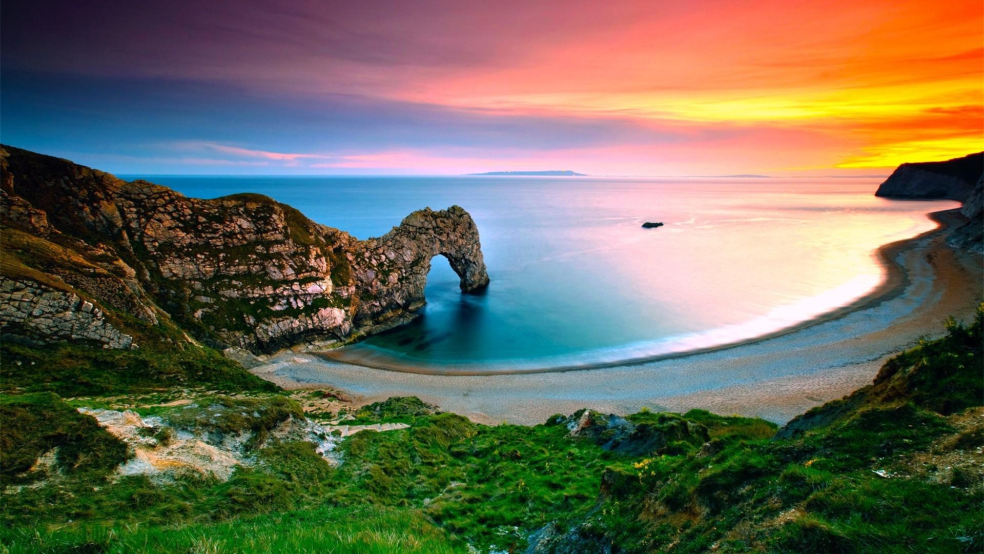 landscape ocean beach HD Desktop Wallpaper HD Desktop Wallpaper 1920x1080
