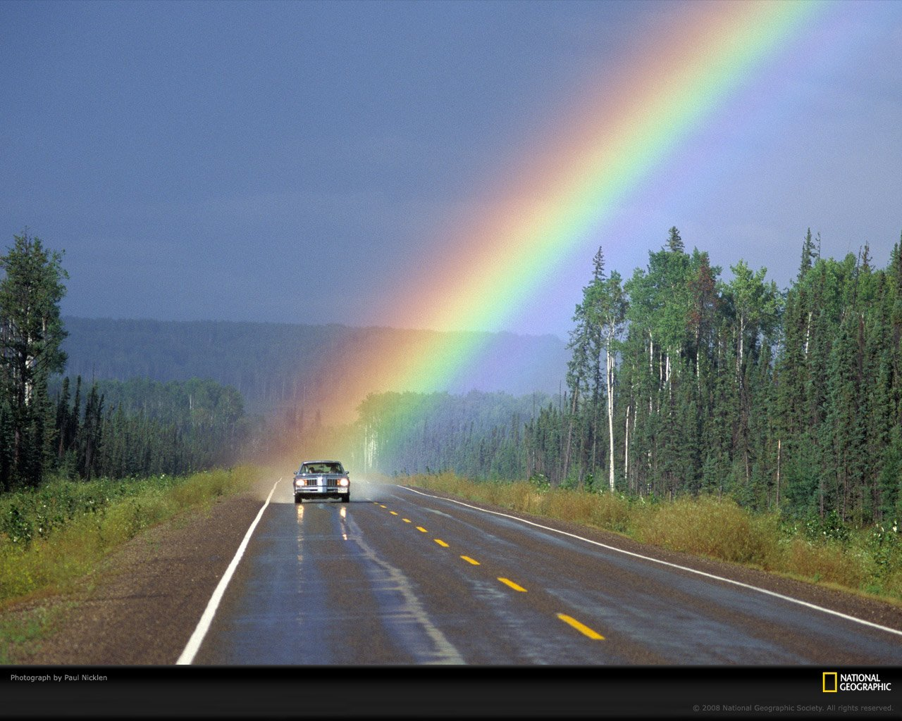 Rainbow Wallpaper From National Geographic Ginva 1280x1024