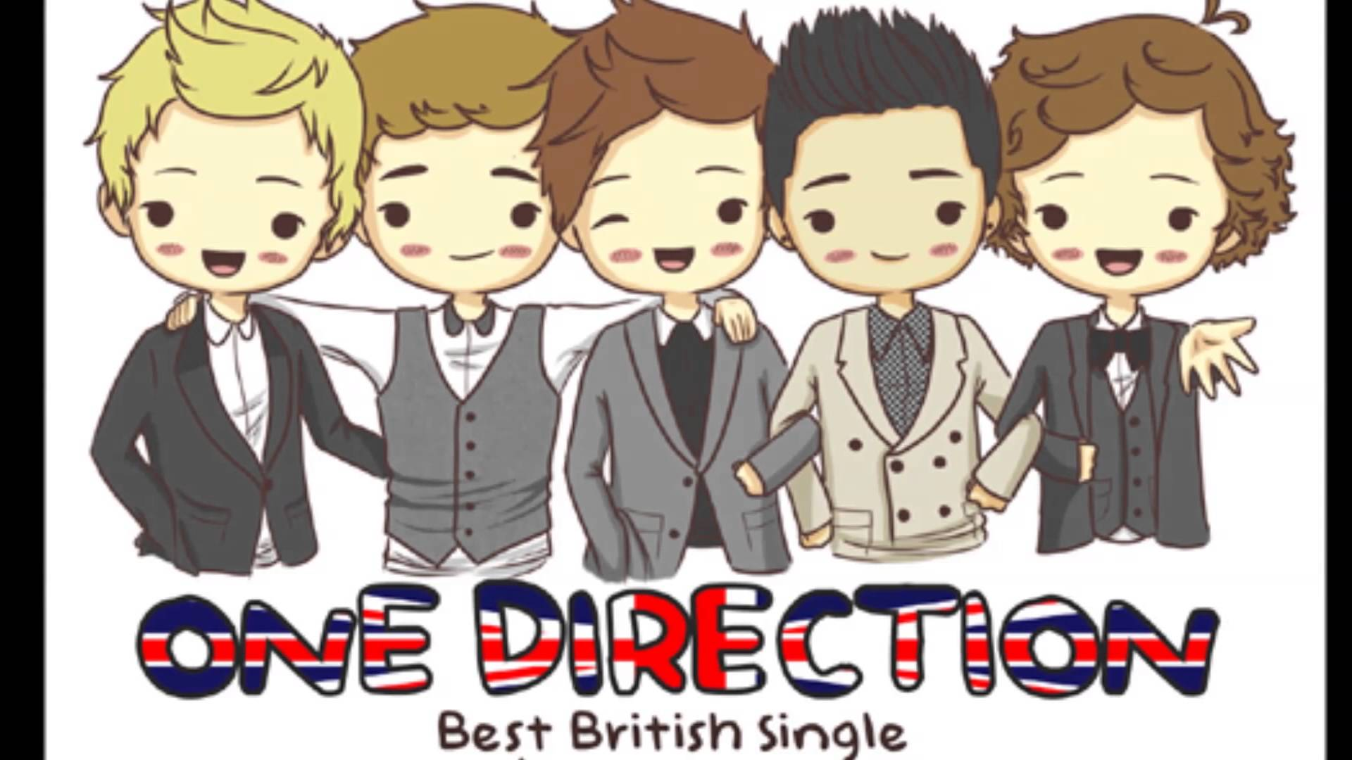 One Direction Cartoon Images TheCelebrityPix 1920x1080