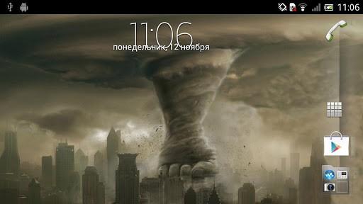 View bigger   Tornado Live Wallpaper for Android screenshot 512x288