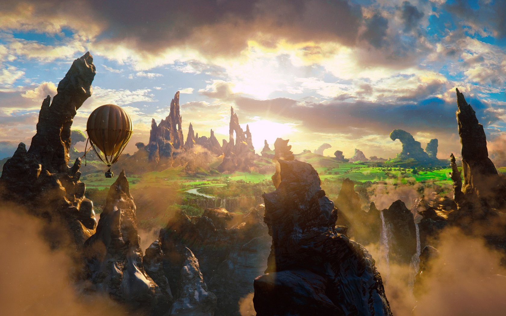Oz the Great and Powerful HD Desktop Wallpapers Oz the Great and 1680x1050