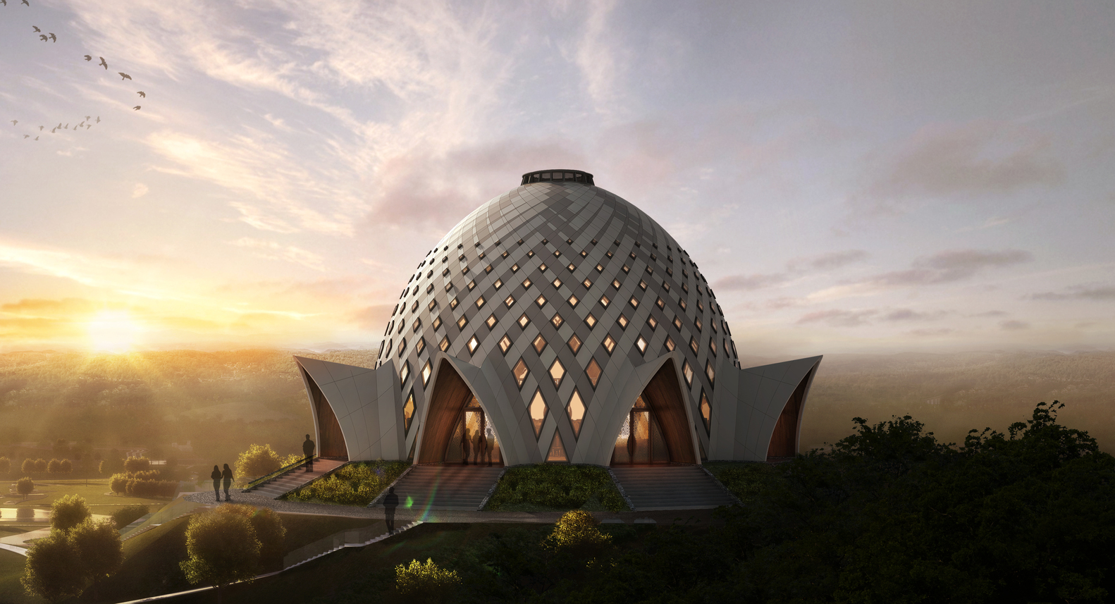 Gallery of Images Released for Bah House of Worship in Papua 1582x857