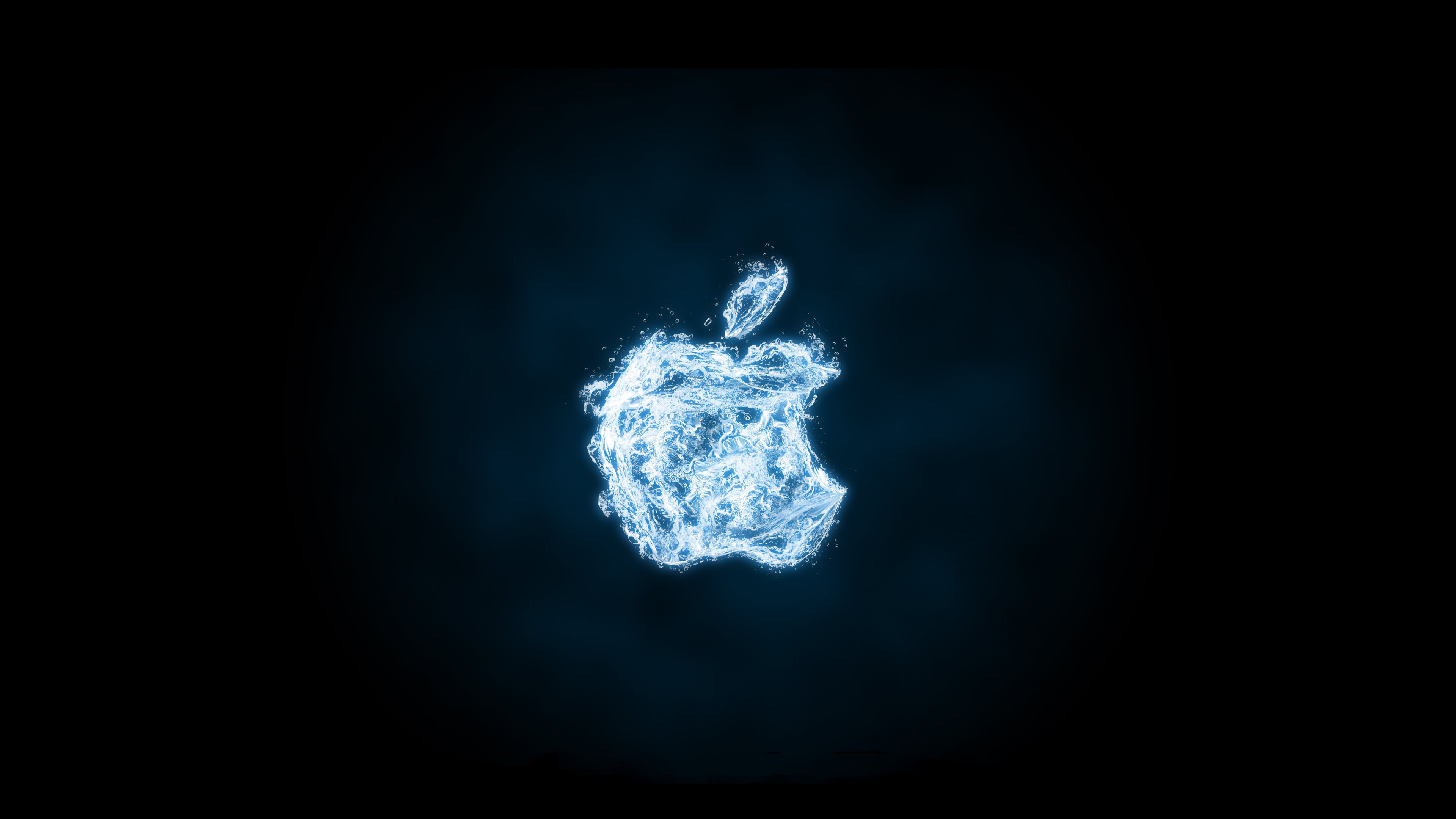 Apple Fire Apple Water HD Wallpapers 4K Wallpapers 3840x2160