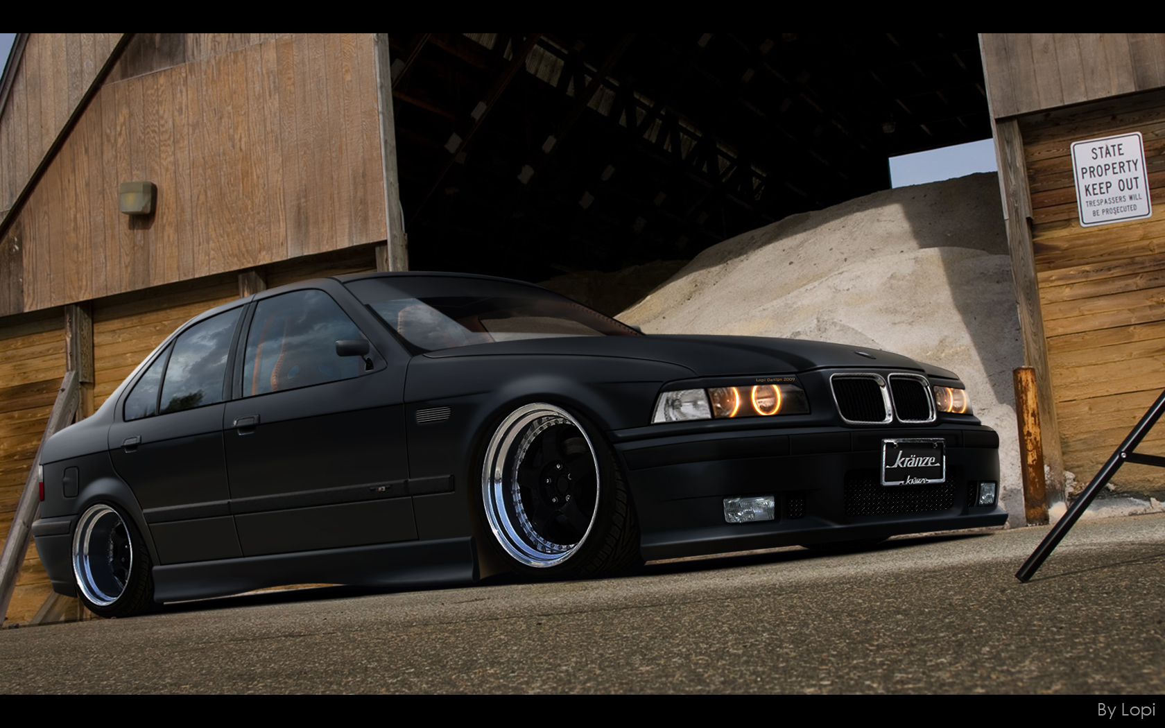 Bmw e36 by lop Wallpapers imagefriendcom 1680x1050